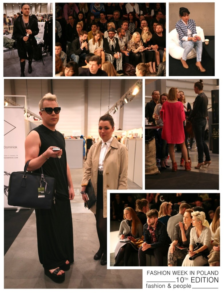 Fashion week poland, people of fashion in poland,